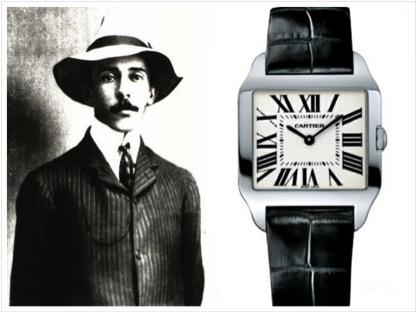 Santos Dummont e a criação do relógio de pulso