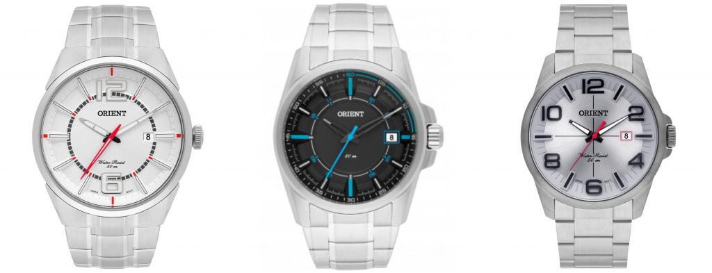 Outros modelos de relógio