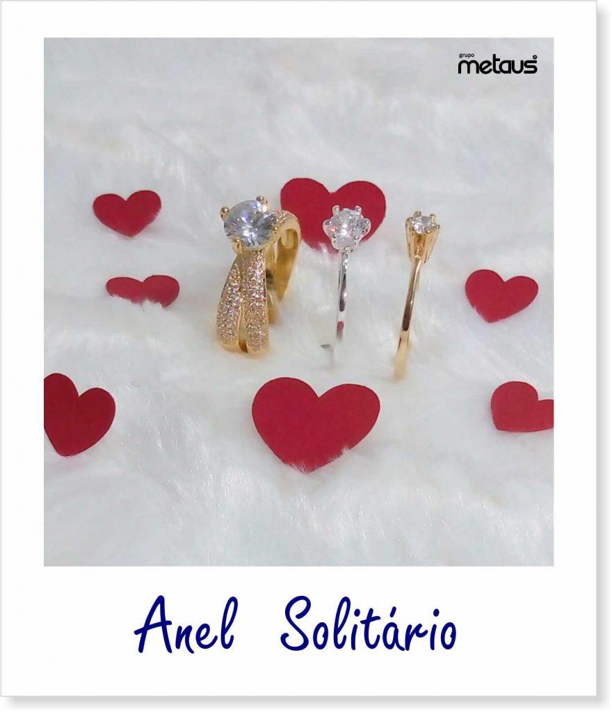 Anel Solitário - Exemplo